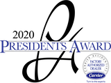 2020 Presidents Award logo