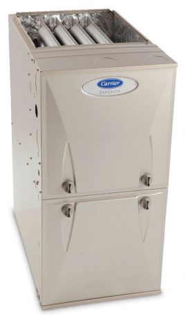 Carrier furnace from Jacobs Heating