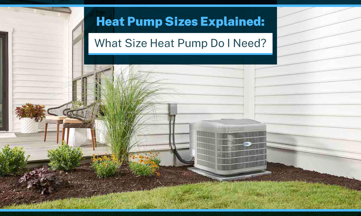 heat pump sizes explained what size heat pump do i need